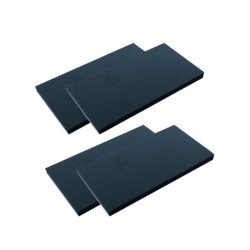 Battery Anti-Slip Silicone 3M Pad 54x28x2mm (4 pcs)