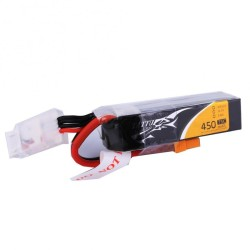 Tattu 450mAh 3S1P 75C 11.1V Lipo Battery XT30 Long Size for H Frame