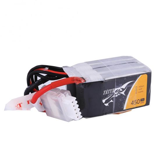 Tattu 450mAh 14.8V 75C 4S1P Lipo Battery with XT30 Plug