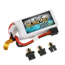 Gens ace Soaring 2700mAh 11.1V 30C 3S1P Lipo Battery EC3/XT60/T-plug