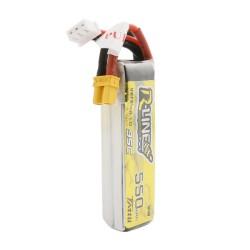 Tattu R-Line 550mAh 7.4V 2S1P 95C Lipo Battery XT30 Plug