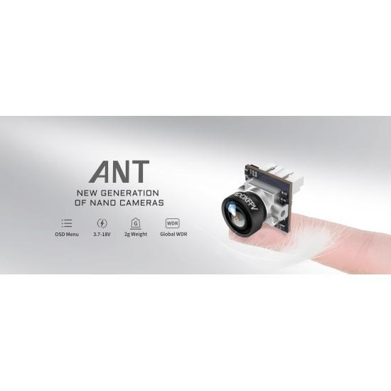 Caddx Ant 1200TVL 1.8mm FOV165° 4:3 14x14 FPV Camera Black