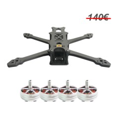 Combo F5 Frame & Performante 2306 (choose KV) Motor aMAXinno
