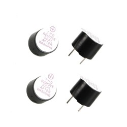 Buzzer 5V Piepser Loud Warner (4pcs)
