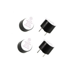 Mini Buzzer 5V Piepser Loud Warner (4pcs)