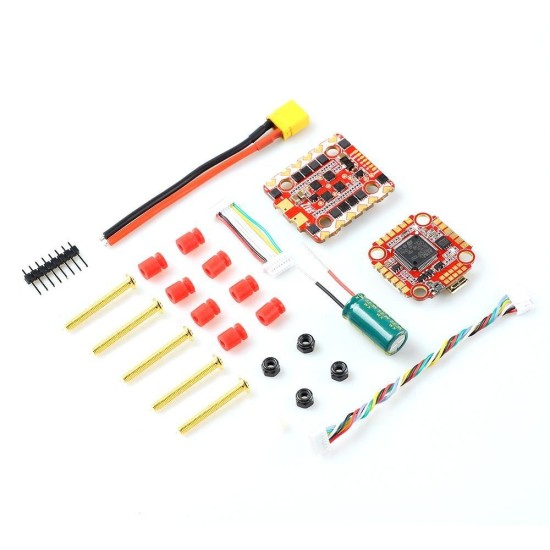 HGLRC Zeus F728 STACK 20x20 3-6S | F722 Flight Controller | 28A BL_S 4in1 ESC Support I2C function