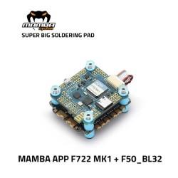 MAMBA F722 MK1 APP F50_BL32 3-6S 50A 32Bit F7 Stack WIFI