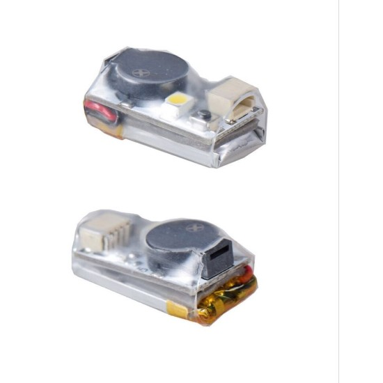 Model Finder 100dB Buzzer Alarm with LED Light 5V