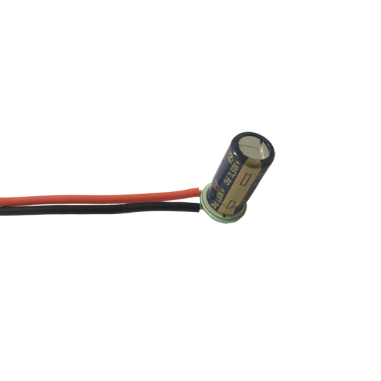 Power Filter Capacitor with 5cm wire 330UF / 25V Capacitor