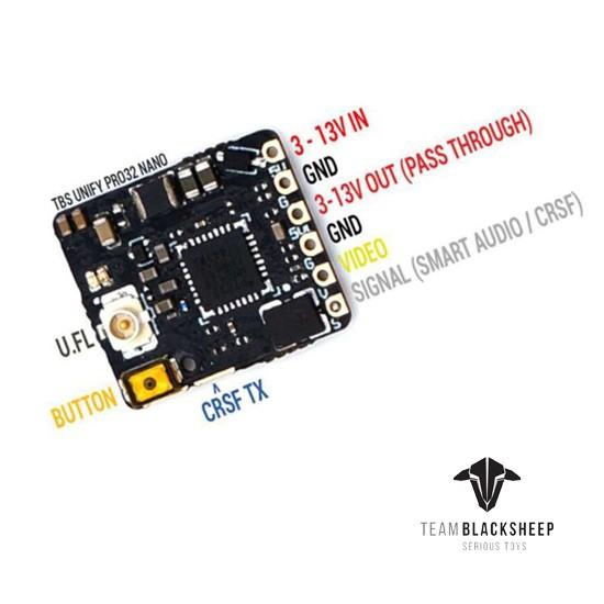 TBS Unify Pro32 Nano 5G8 VTX V1.1