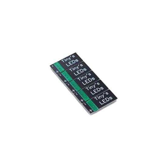Tiny's LEDs Green 3-6S (5pcs)