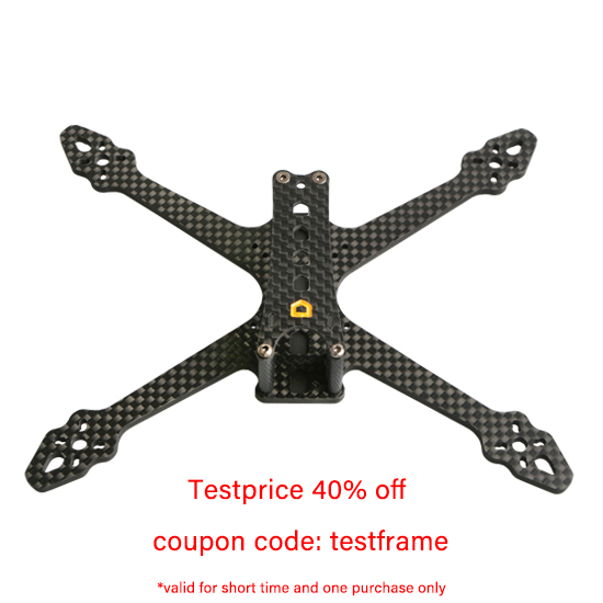 F3.5Nano 3.5-Inch Professional FPV Freestyle Drohne Frame aMAXinno