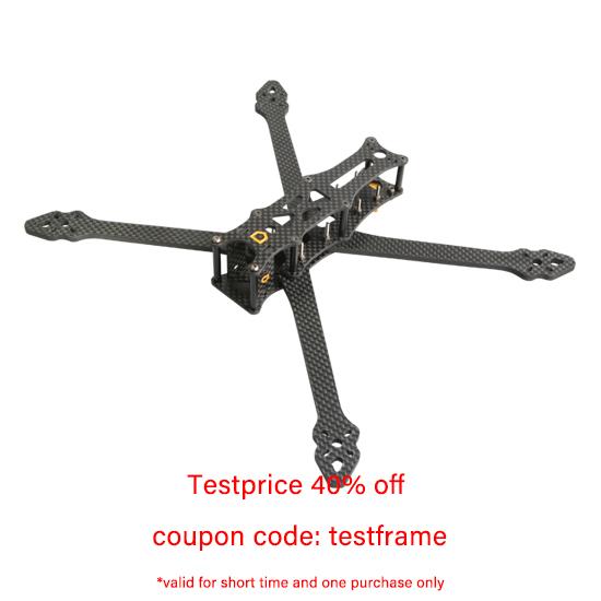 F6Mini 6-Inch Professional FPV Freestyle Drone Frame aMAXinno