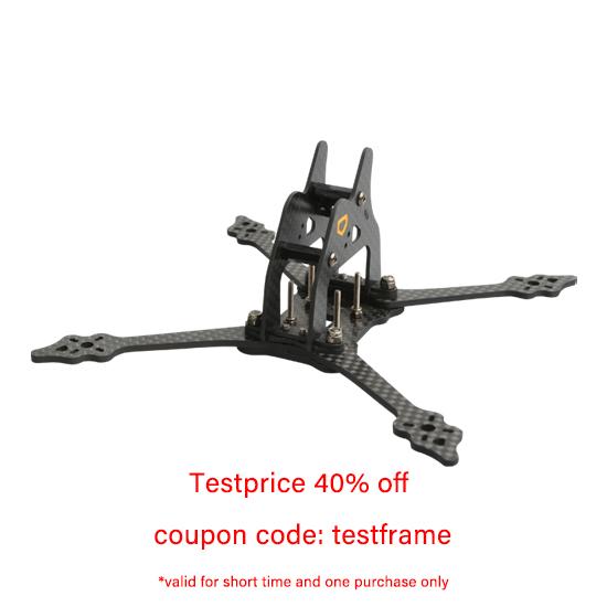 R4Mini 4-Inch Professional FPV Racing Drone Frame aMAXinno