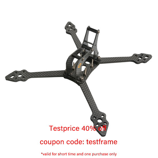 R5 5-Inch Professional FPV Racing Drone Frame aMAXinno