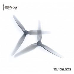 HQProp T5.1x2.5x3 Grey (2CW+2CCW) Poly Carbonate Propeller