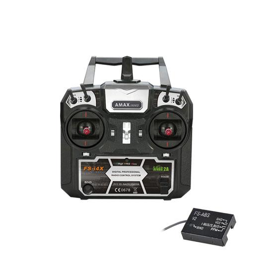 Flysky i4X AFHDS 2A & AFHDS 8CH Mode 2 RC Radio