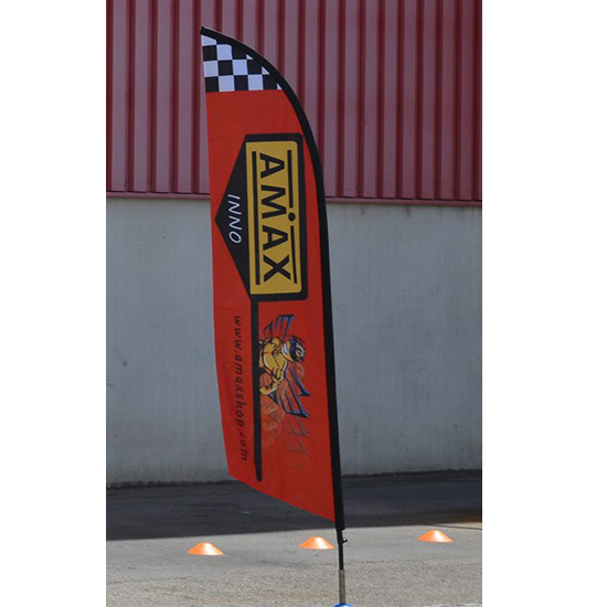 Flag 2.6M Fabric 1-Layer Race Track