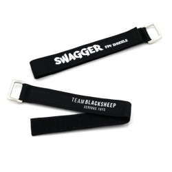 "TBS Swagger LiPo Strap ""UNBREAKABLE"" 280mm 2Pcs"