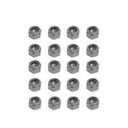 M3 Self Locknut Steel (20pcs)