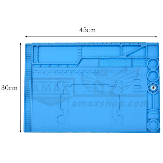Silicone Mat 45 x 30cm Soldering