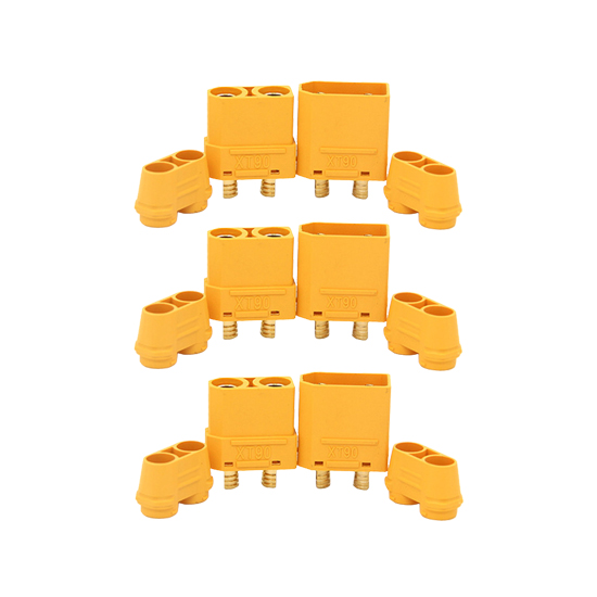 XT90H (3 Pairs) Connector AMASS